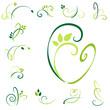 verzierungen - grün set3