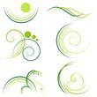 verzierungen - grün set1