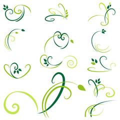 verzierungen - grün set2