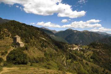Ermitas de Tella, Pirineos, España