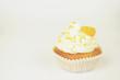 Mandarinen Cupcake