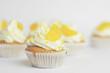 Cupcake mit Mandarine