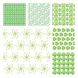 Vector Collection Of Six Seamless Pattern