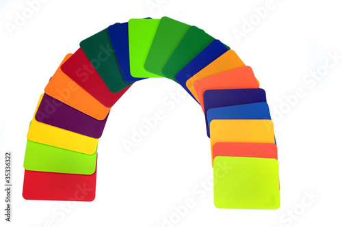All the colors of the rianbow