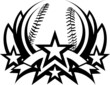 Baseball Vector Graphic Templa...