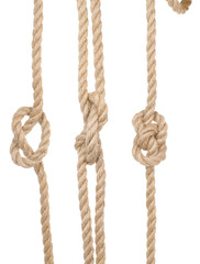 ship ropes with a knot