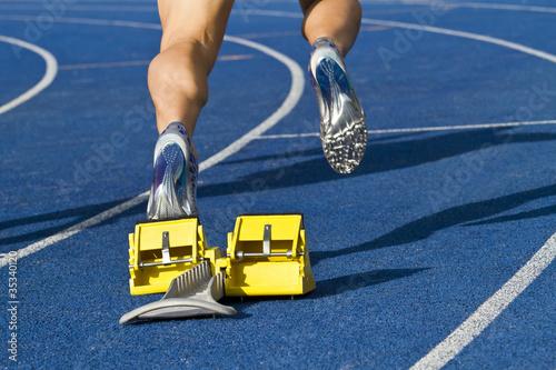 Sprinter starting