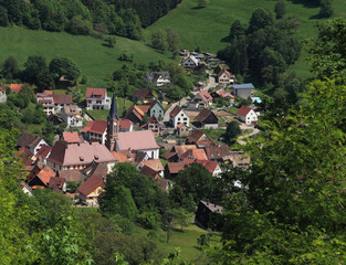 Alsatian village