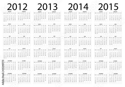Calendario 2014 2015
