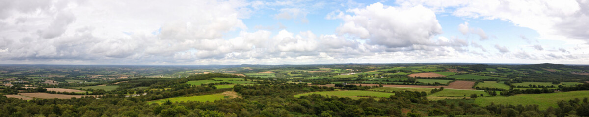 panorama sur la Bretagne