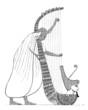 Harpist Egypt