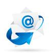 メール 電子メール    ベクターeps