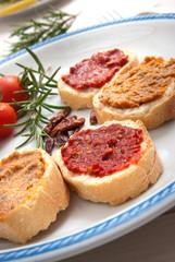 Homemade bruschetta - Bruschette caserecce