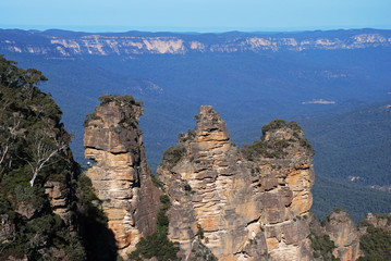 Three sisters in Blue mountains national park, Australia