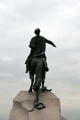 Monument of emperor Peter the Great Saint Petersburg, Russia