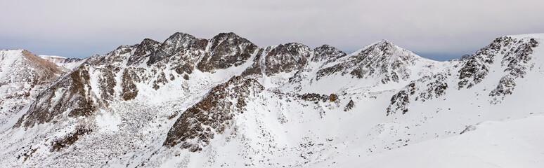 Panorama of Pyrenees