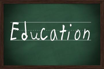 Kreidetafel Education