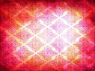 Tessuto rosa damascato retro