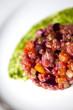 Tartare, légumes, entrée, cuisine, gastronomie, sauce