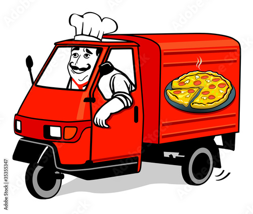 Pizza Auslieferung
