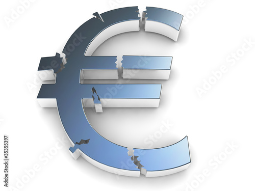 Broken Euro Symbol - Europe Default