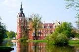 Fototapeta Bad Muskau Fürst Pückler Schloss