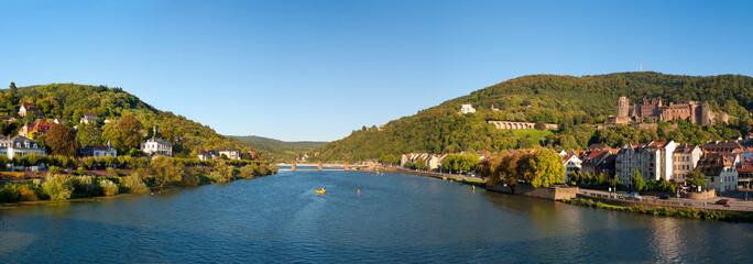 Neckar Panorma von Heidelberg