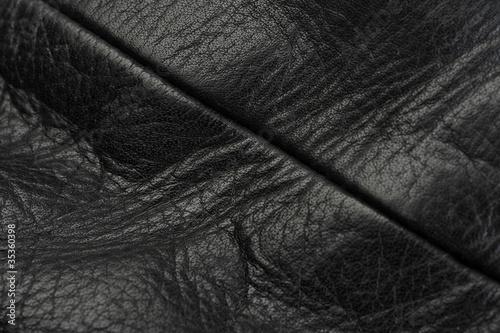 Aluminium Leder Ledernaht schwarz