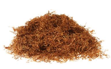 loser Tabak auf einem Haufen