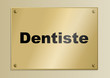 Plaque_Metier_Dentiste