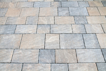 Steinbodenplatten