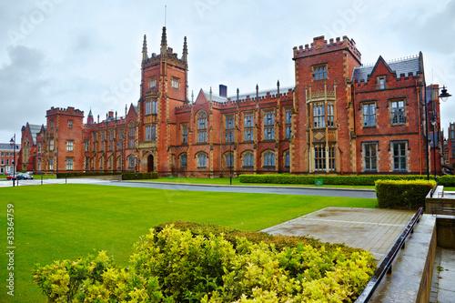 Poster Queen's University of Belfast