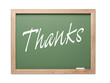 Thanks Green Chalk Board Series