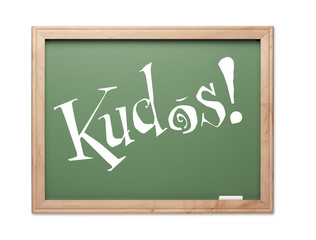 Kudos! Green Chalk Board Series