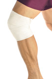 Athletic knee support