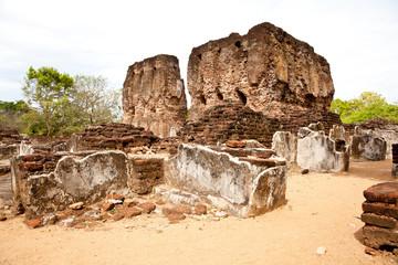 ancient royal palace, pollonaruwa, sri lanka
