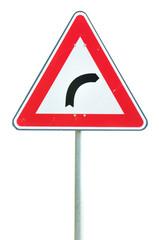 Segnale stradale di curva