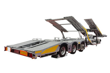 automobile transporter semi-trailer