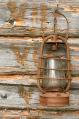 The old kerosene lamp
