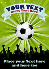 soccer/football poster