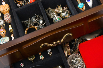 Jewelry in box