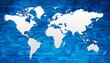 planisphère - drapeaux - pays du monde