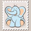 stamp Elephant Boy