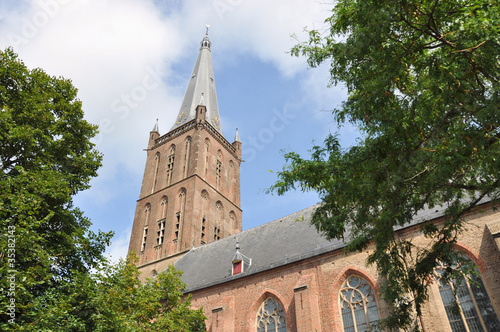 Church tower (Steenwijk, the Netherlands)