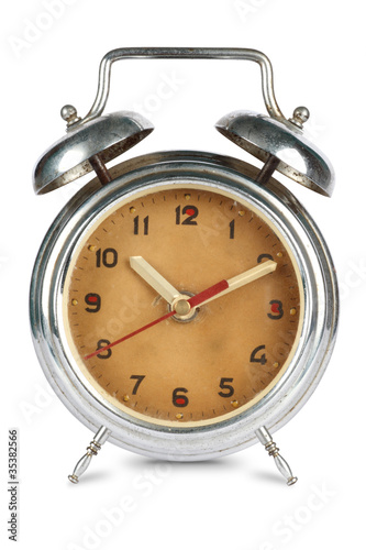 Antique Rusted Alarm Clock