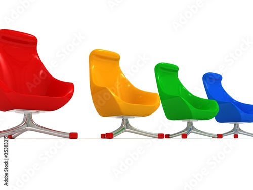 colorful modern stylish chairs