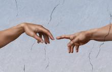 Michel-Ange: La Création d'Adam