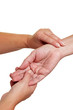 Blutdruckmessung mit Fingern
