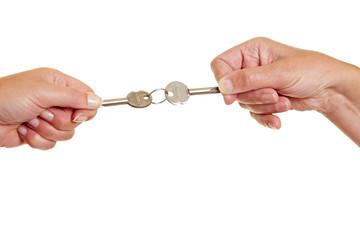 Streit um Schlüssel