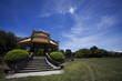 nel parco della cittadella imperiale di hue in vietnam
